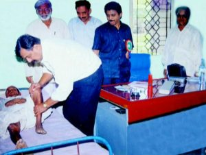 Dr. Joshi's unique initiative of deciding to conduct a medical camp